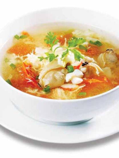 Hướng dẫn nấu canh trứng gà hải sản